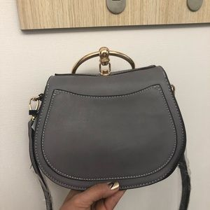 [BRAND NEW] Crossbody bag - DARK GREY wear 2 way